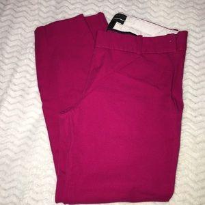 J crew Minnie pink pants